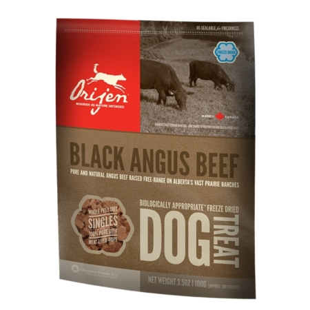 Black Angus Beef Treats - godbidder til hunde