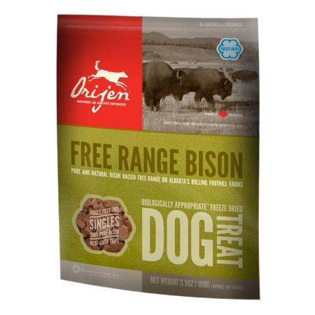 Free Range Bison Treats - godbidder til hunde