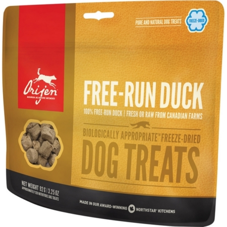 Free run Duck Treats til hunde